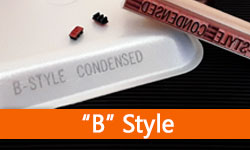 • B Style Sets - Condensed