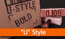 • U Style Sets - Bold