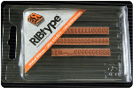 """FA11 RIBtype Rubber Stamp Set has 9/64"""" Letters & Numbers • Make your own stamps and change as needed. • Buy online! Find additional sizes, stamps, ink, demos and more."""