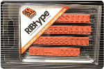 """FA14 RIBtype Rubber Stamp Set has 5/16"""" Letters & Numbers • Make your own stamps and change as needed. • Buy online! Find additional sizes, stamps, ink, demos and more."""