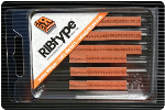 """FA7VP RIBtype Rubber Stamp Set has 1/16"""" Letters & Numbers • Make your own stamps and change as needed. • Buy online! Find additional sizes, stamps, ink, demos and more."""