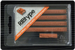 """TU71 RIBtype Rubber Stamp Set has 5/32"""" Letters & Numbers • Make your own stamps and change as needed. • Buy online! Find additional sizes, stamps, ink, demos and more."""