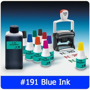 #191 Blue Ink